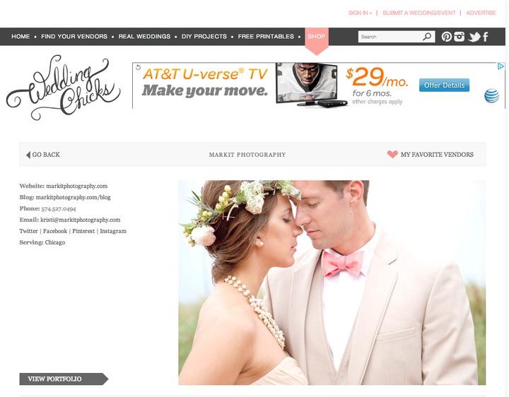 wedding chicks preferred vendor | business