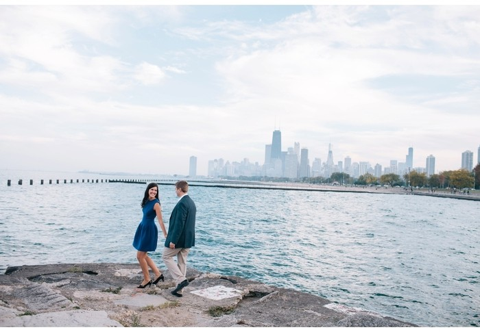 neil + kristen | engagement | chicago