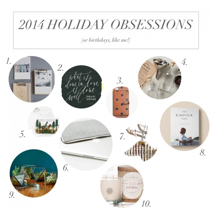 weekly obsessions | holiday 2014