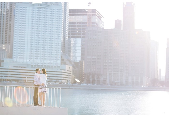 nathan + stephanie | engagement | chicago