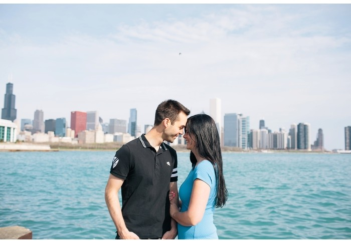 sean + jen | engagement | chicago