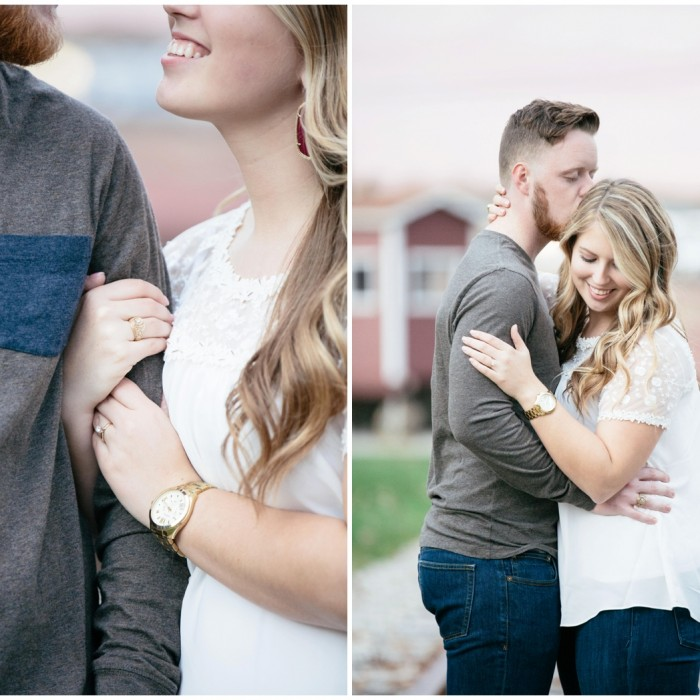 michael + holly | engagement | fort worth