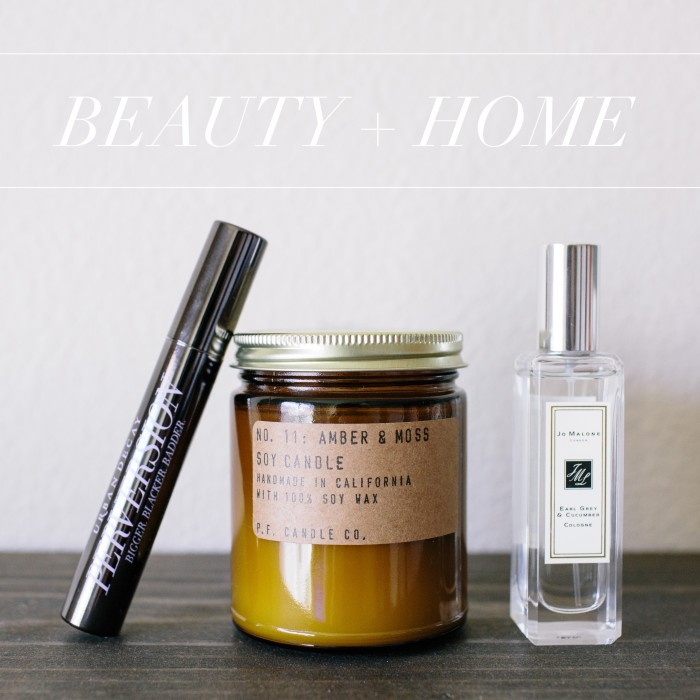 my favorite beauty + home products | personal