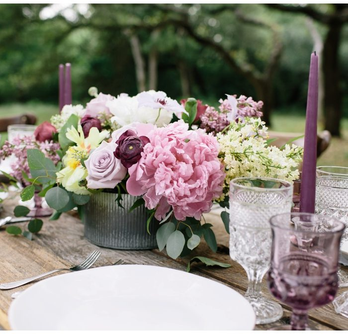 ELD | Texas Lavender & Slate Styled Shoot | Press