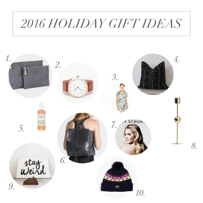 holiday gift guide 2016 | personal